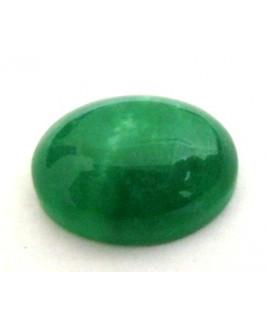 Natural Green Quartz Oval Cabochon Gemstone  10.85 Carat (GQ-10)