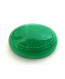 Natural Green Quartz Oval Cabochon 10.00 Carat (GQ-20)