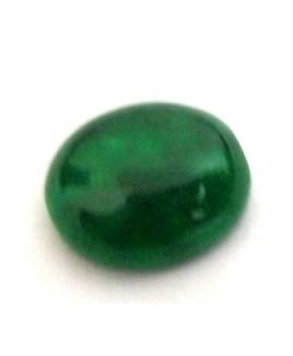 Natural Green Quartz Oval Cabochon Gemstone- 4.90 Carat (GQ-23)