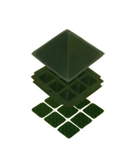 Green Pyramid -13 cm (PYGN-001)