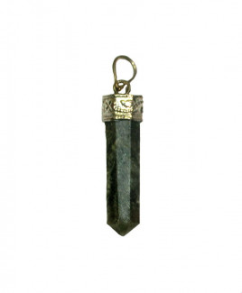 Green Aventurine Pencil Pendant