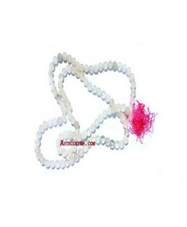 Hakik Rosary / Mala White - 06 mm (MAHA-002)