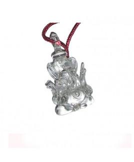 Hanging Vastu Crystal Ganesha - 8 cm