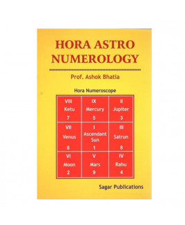 Hora Astro Numerology by Prof. Ashok Bhatia in English- (BOAS-0006)