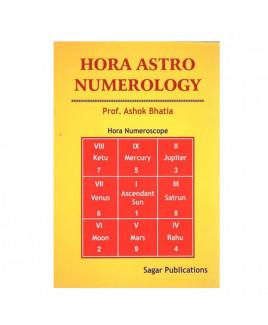 Hora Astro Numerology by Prof. Ashok Bhatia in English- (BOAS-0006)