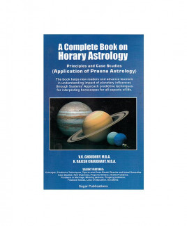 A Complete Book on Horary Astrology Principles (Application of Prasna Astrology) (BOAS-0223)