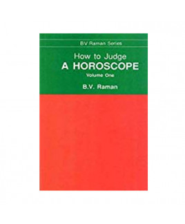 How to Judge a Horoscope Vol.1 & 2  in English - Paperback- (BOAS-0851)