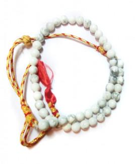 Howlite Mala / Rosary - 08 mm