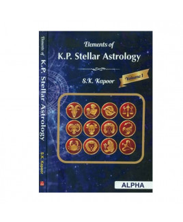 Elements Of K. P. Stellar Astrology - Vol 1 & 2 in English by S. K. Kapoor -(BOAS-0950)