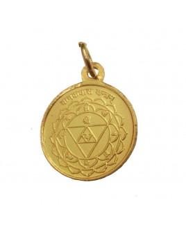 Kanakdhara (Gold flow) Yantra Pendant / Locket (PEKD-001)