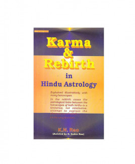 Karma & Rebirth in Hindu Astrology by K. N. Rao  (BOAS-0130)