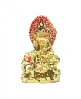 Kuan Yin on elephant - 11 cm (FEKYE-001)