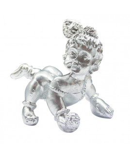 Parad Mercury Laddu Gopal Lord Krishna - (Baby Krishna) – 150 Gm -(PAKR-003)