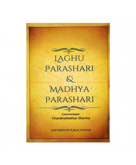 Laghu Parashari & Madhya Parashari In English By Chandrashekhar sharma -(BOAS-0902)