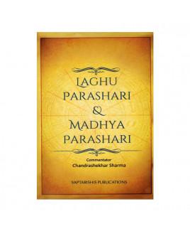 Laghu Parashari & Madhya Parashari In English By Chandrashekhar sharma -(BOAS-0902)