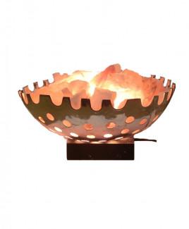 Himalayan Rock Salt Lamp Basket (VAHL-005)