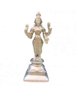 Parad (Mercury) Laxmi / Lakshmi Idol - 900 gm - (PALX-005)