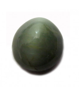 Natural Cat's Eye Gemstone Oval Cabochon - 5.60 Carat (LE-13)