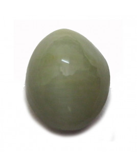 Natural Cat's Eye Gemstone Oval Cabochon - 8.40 Carat (LE-29)
