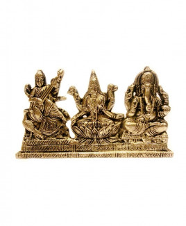 Laxmi Ganesh Saraswati - 274 gm (DIGLS-006)