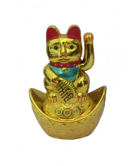 Lucky Cat - Height 13 cm