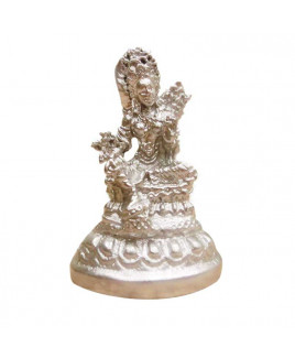 Parad Goddess Tara Murti -(small) -  100 gm (PATM-002)