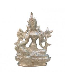 Parad Goddess Tara Murti - 600 gm  (PATM-001)