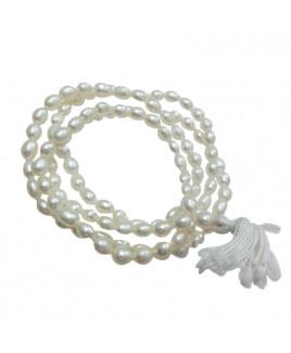Pearl (Mukta, Moti) Mala / Rosary - 06 mm  (MAPE-001)