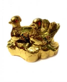 Mandarin Ducks Golden - 7 cm (FEMD-002)