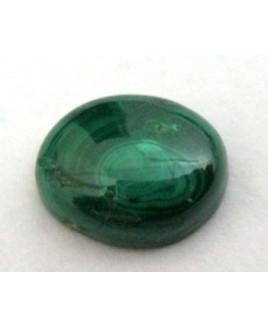 Natural Malachite / Kidney (Dana Firang) Oval Cabochon Gemstone - 5.60 Carat (MC-05)