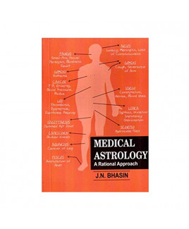 Medical Astrology- A Rational Approach by J.N.Bhasin (BOAS-0074)