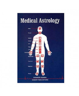 Medical Astrology In English By Dr. Shanker Adwal -(BOAS-0864)