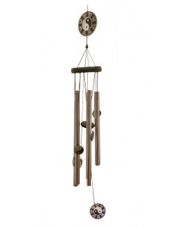 Metallic Wind Chime with Five Rods (FEMWC-002)