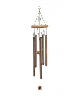 Metallic Wind Chime with Five Rods (FEMWC-005)