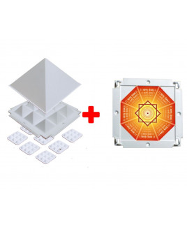 Multier Plus (multier with booster plate) Vastu Tool Pyramid