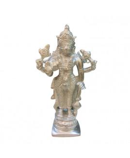 Parad (Mercury) Narayan Vishnu Idol - 475 gm (PAVI-002)