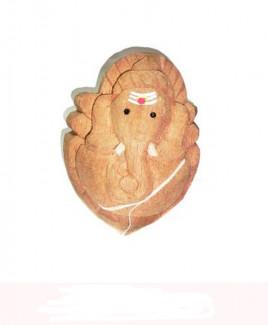 Nariyal / Coconut Ganpati - 18 cm (DING-001)