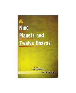 Nine Planets and Twelve Bhavas by M. N. Kedar (BOAS-0231)