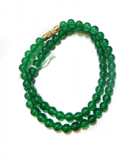 Green Onyx Mala / Rosary - 06 mm (MAGO-002)