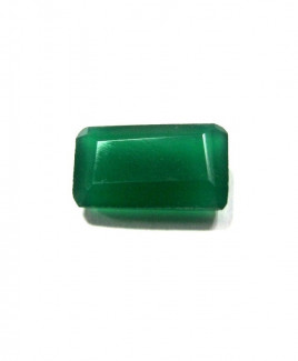 Green Onyx Octagon Step Gemstone - 6.20 Carat (ON-14)