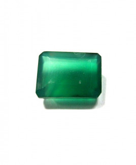 Green Onyx Octagon Step Gemstone- 5.15 Carat (ON-16)