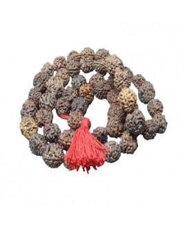 3 Mukhi Rudraksha Rosary / Mala With Certificate- (MARU03-003)- (NEPAL)