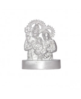 Parad Shiv Parvati Ganesh / Family Idols- 150 Gm- (PASP-002)