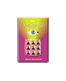 Pyracard - Peace & Relaxation Pyramid