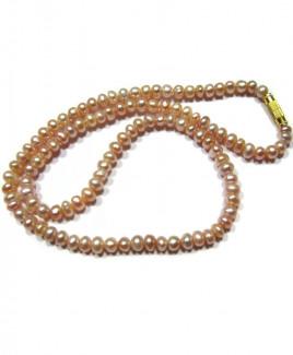 Pearl (Mukta, Moti) Mala / Rosary - 05 mm (MAPE-002)