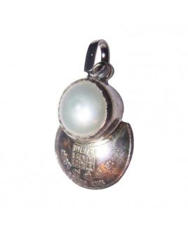 Pearl Moon (Chandra Moti) Pendant (PEPM-001)