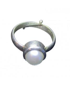 Pearl (Moti) Ring -(PER-009)