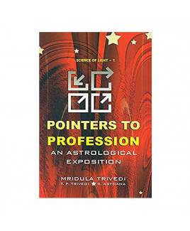 Pointers to Profession - An Astrological Exposition in English - (BOAS-0547)