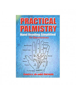 Practical Palmistry- Hand Reading Simplified By Comte. C. Saint- Germain In English-(BOAS-1057)