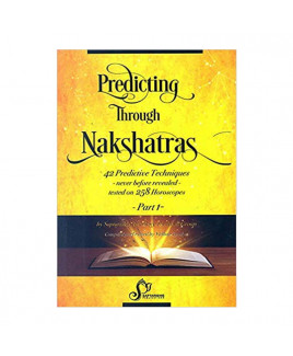 Predicting Through Nakshatras Part-1 In English By Vidhan Pandya & Nidhi Raj Sharma- (BOAS-0904)